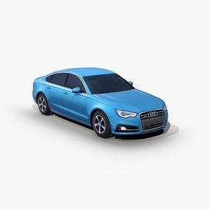 3D Audi S5 Sportback 2012