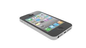 apple iphone 4 phone 3D