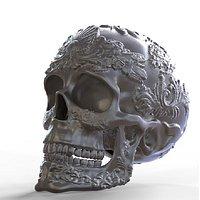Ornamented Skull