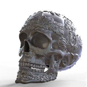 Ornamented Skull model