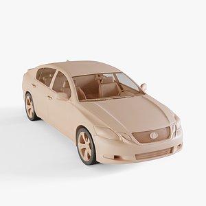 2010 Lexus GS 3D model