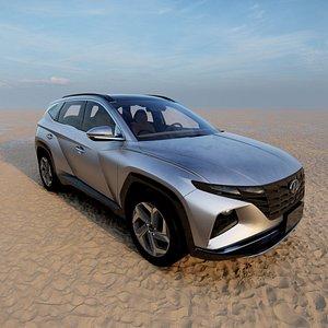2021 Hyundai Tucson 3D model