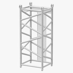 crane d intermediate section 3D