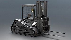 forklift concept 3D model