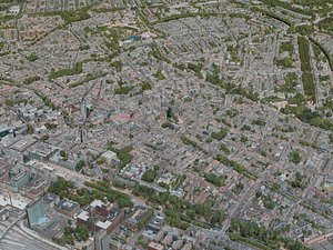3D utrecht city