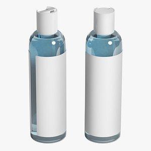 3D cosmetic bottle model