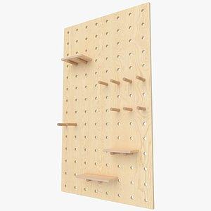 3D model Peg Board