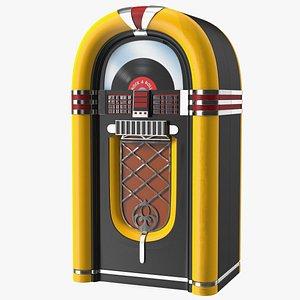 Advertising Volumetric Sign Vintage Jukebox 3D model
