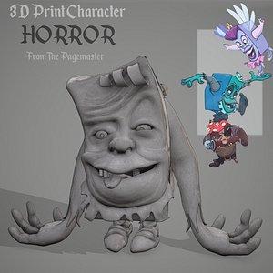 horror character 3D model