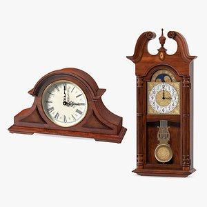 Antique Clocks Collection model