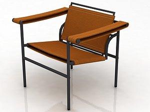 3D model Breuer Wassily Chair