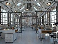 Loft Office interior 4