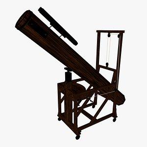 Herschel telescope 3D