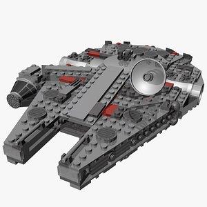 lego millennium falcon model