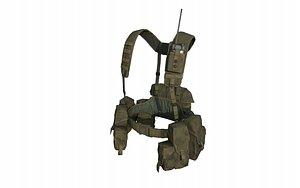 3D Russian Special Forces Smersh Vest
