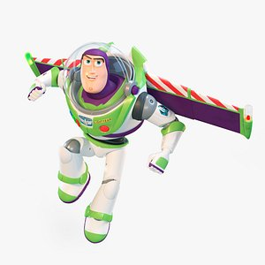3D Buzz Lightyear Rigged