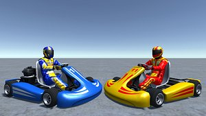 player kart kar 3D