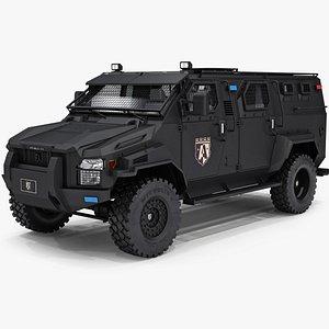 swat truck alpine armstrong 3D