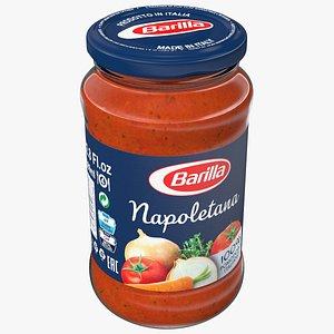 Barilla Napoletana Sauce 12oz 3D model