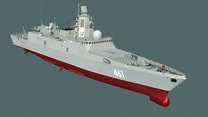 3D model ship boat vessel