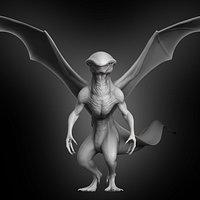 Winged Creature Concept