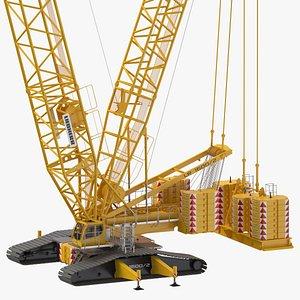 liebherr lr 1600 2 3D model