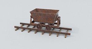 Mine Wagon 6 3D