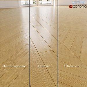 European ash European Fraxinus floor 3D