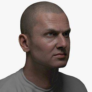 3D animation ready face 8k