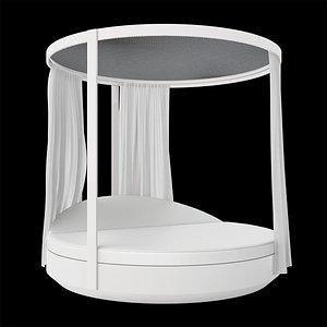 VONDOM Vela Round Canopy 3D model