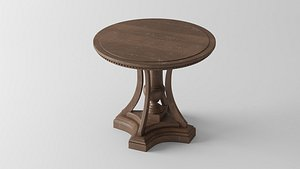 ST. JAMES ROUND ENTRY TABLE 3D