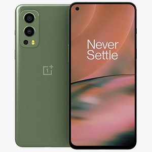 OnePlus Nord 2 5G Green Wood 3D model