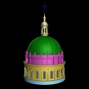 3D dome model