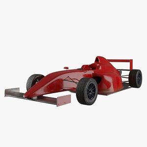 3D Formula 4 car model