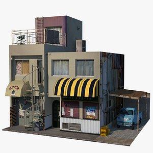 Osaka Building 3D model