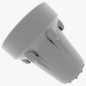 3D e-100 mantlet