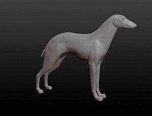 dog base mesh 3D model