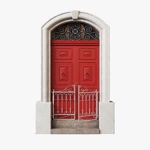 Exterior Door V10 3D
