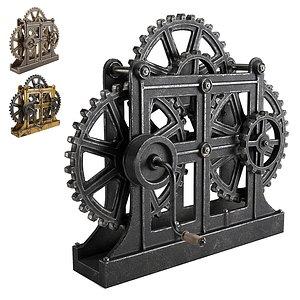 gear mechanism 3D model