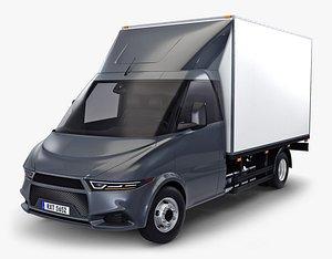 generic box truck 3D