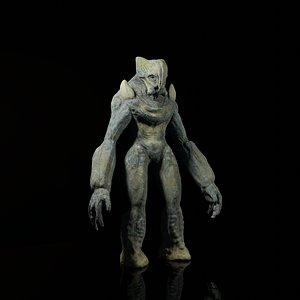 3D creature model