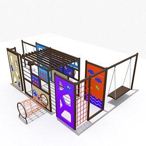 Square Playground 3D