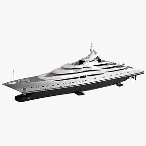 Willie Love Luxury Yacht Dynamic Simulation model