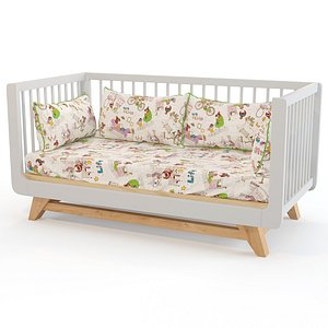 Willox childrens bed 3D