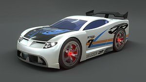 3D model power rage