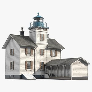 Old Lighthouse 3D model