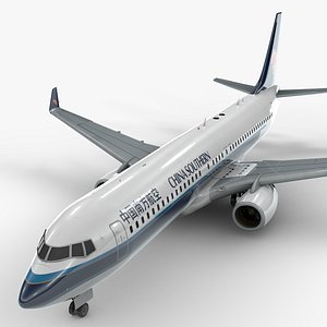 boeing 737-8 china southern 3D model