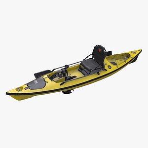 fishing kayak 3D