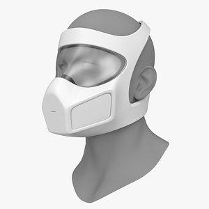 3D respirator mask
