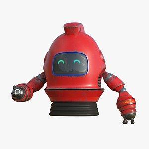 Maximus Robot Rig 3D model